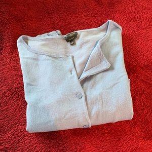 Talbots Short Sleeve Pima Cotton Sweater LP